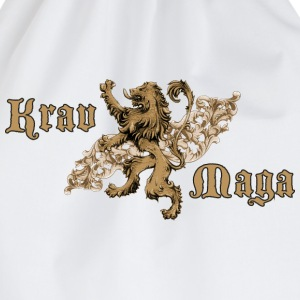 Krav Maga Lion Crest T-Shirts - Drawstring Bag