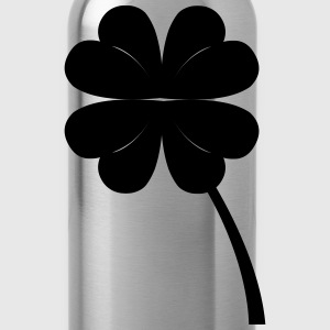 fourleaf_clover T-Shirts - Trinkflasche