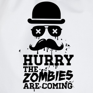 Hurry the zombies are coming zombie halloween Sweat-shirts - Sac de sport léger