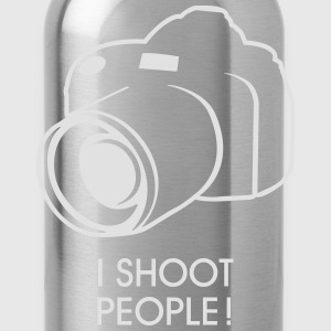 i shoot people T-Shirts - Water Bottle
