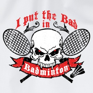 I put the bad in Badminton Flaskor & muggar - Gymnastikpåse
