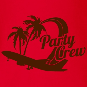 Party Crew T-shirts - Ekologisk kortärmad babybody