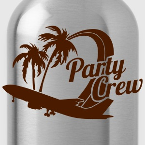 Party Crew T-Shirts - Water Bottle