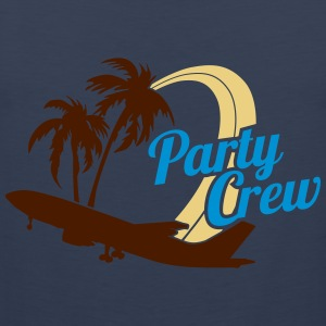 Party Crew T-Shirts - Men's Premium Tank Top