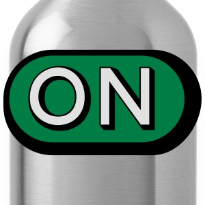 On Button T-Shirts - Water Bottle
