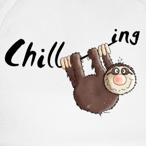 Chillen - Faultier - Faulenzen - Cartoon T-Shirts - Baseballkappe