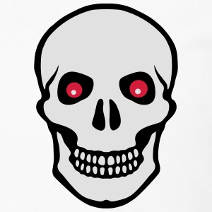 Skull red eyes - Men's Premium Longsleeve Shirt