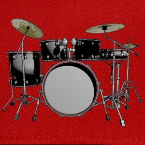 drum set T-Shirts - Snapback Cap