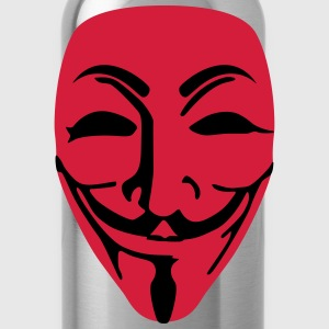 Fawkes Anonymous Maske Tasche - Trinkflasche