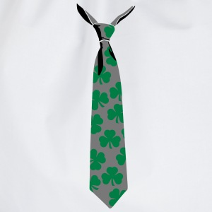 Shamrock tie - Drawstring Bag