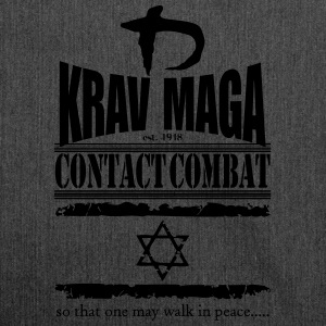 Krav Maga Est.1948 T-Shirts - Shoulder Bag made from recycled material
