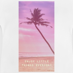 enjoy little things everyday Skjorter - Baby-T-skjorte