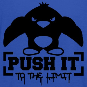 Push It To The Limit Penguin T-Shirts - Frauen Tank Top von Bella