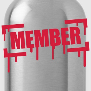 Member Stamp T-Shirts - Trinkflasche