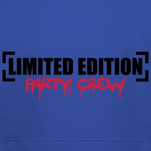 Limited Edition Party Crew Design Camisetas - Sudadera con capucha premium niño