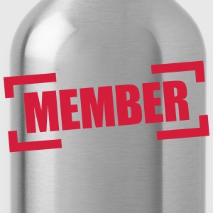 Member T-Shirts - Trinkflasche