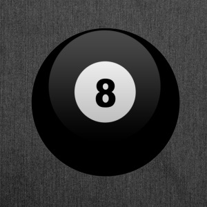8Ball Pool T-Shirts - Schultertasche aus Recycling-Material