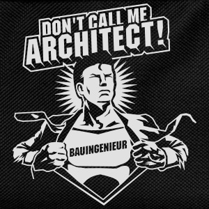 Don't call me architect! T-Shirts - Kids' Backpack