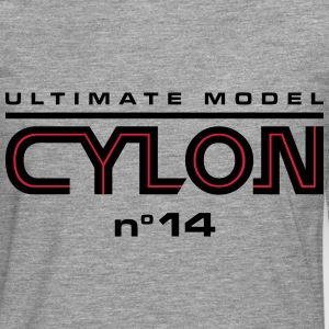 Ultimate model cylon n°14 - Mannen Premium shirt met lange mouwen