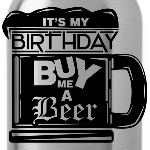 It's my birthday, buy me a beer! Koszulki - Bidon