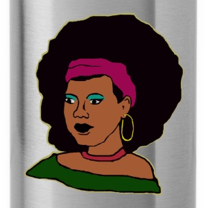 Miss Afro - Trinkflasche