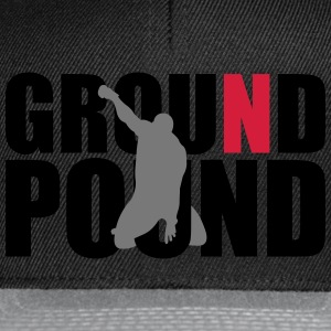 Ground N Pound (3 Layer) T-Shirts - Snapback Cap