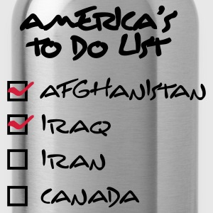 America\\\'s ToDo List (2c, ENG) - Drikkeflaske