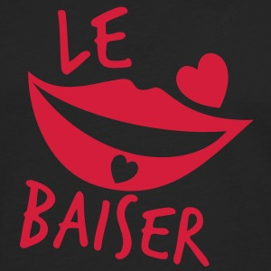 le baiser french for the kiss T-Shirts - Men's Premium Longsleeve Shirt