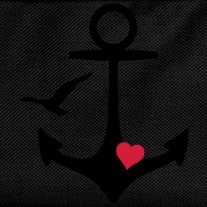 anchor heart and gull T-Shirts - Kids' Backpack