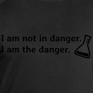 I am not in danger. I am the danger. je ne suis pas en danger. je suis le danger. Tee shirts - Sweat-shirt Homme Stanley & Stella