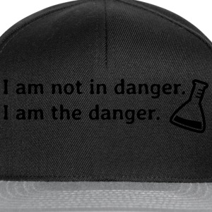 I am not in danger. I am the danger. je ne suis pas en danger. je suis le danger. Tee shirts - Casquette snapback