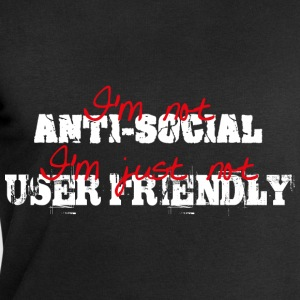 I'm not anti-social, I'm just not user friendly T-shirts - Sweatshirt herr från Stanley & Stella