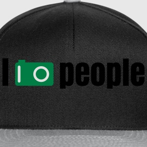 i take photos of people tomar fotos de personas Camisetas - Gorra Snapback
