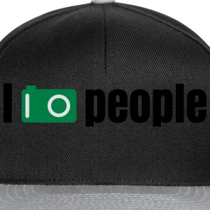 i take photos of people prendere foto di persone Magliette - Snapback Cap