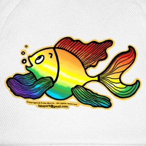Rainbow Fish - Baseball Cap