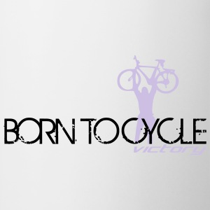 Born to cycle 2 Fahrrad T-Shirt - Tasse