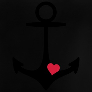 anchor and heart ankaret och hjärtat T-shirts - Baby-T-shirt