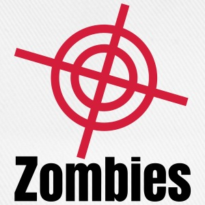 i shoot zombies jag skjuta zombies T-shirts - Basebollkeps