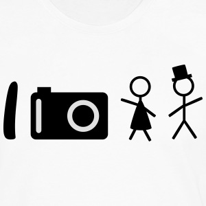 i take photos of people je prends des photos de personnes Tee shirts - T-shirt manches longues Premium Homme