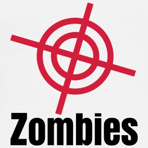 i shoot zombies Bags & backpacks - Men's Premium T-Shirt