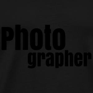 Photographer Bags & backpacks - Men's Premium T-Shirt