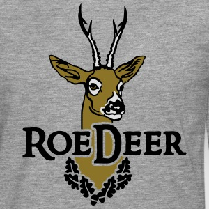 roe_deer_head T-Shirts - Men's Premium Longsleeve Shirt