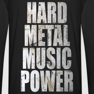 Hard metal music power Hoodies & Sweatshirts - Men's Premium Longsleeve Shirt