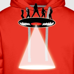 Dancers LP UFO T-Shirts - Men's Premium Hoodie