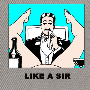 like a sir T-Shirts - Snapback Cap