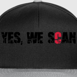 yes we scan T-Shirts - Snapback Cap