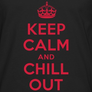 keep calm and chill out T-Shirts - Männer Premium Langarmshirt