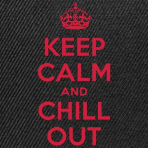 keep calm and chill out T-Shirts - Snapback Cap
