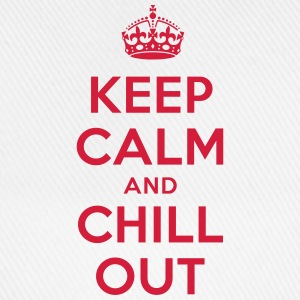 keep calm and chill out T-Shirts - Baseballkappe