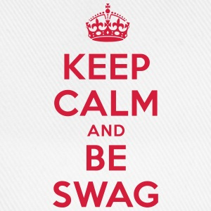 keep calm and be swag T-Shirts - Baseballkappe